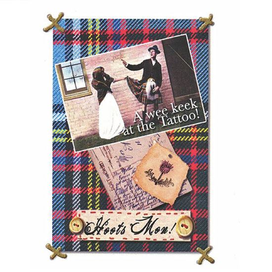 Picture of Card - A Wee Keek
