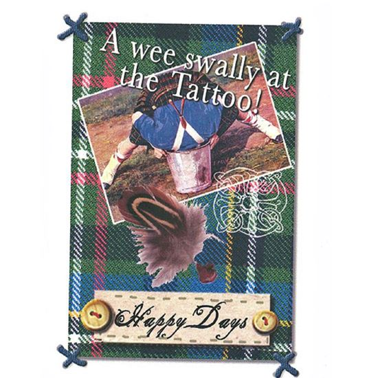 Picture of Card - A Wee Swally
