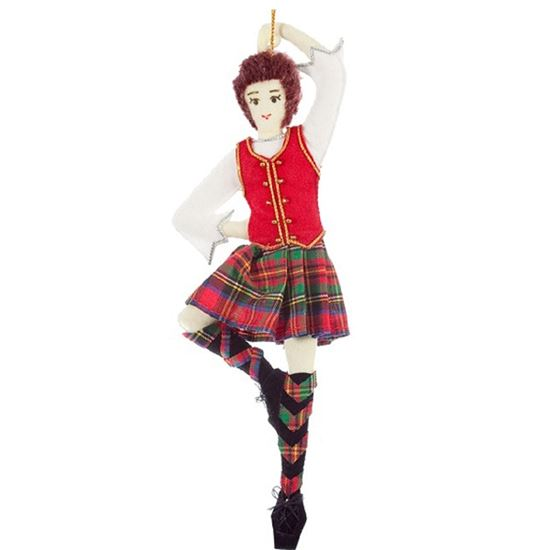 Picture of Christmas Decoration - Highland Dancer