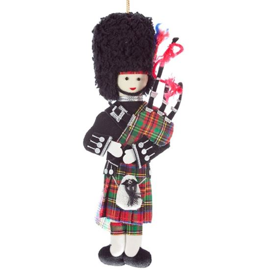 Picture of Christmas Decoration - Highland Piper