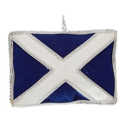 Picture of Christmas Decoration - Saltire