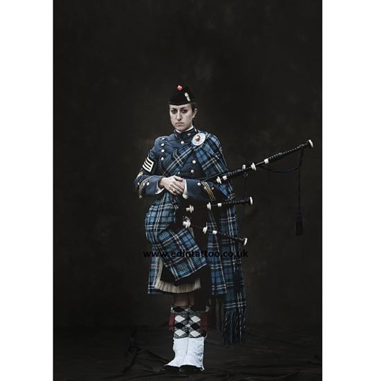 Picture of Exhibition Print - Citadel Regimental Piper