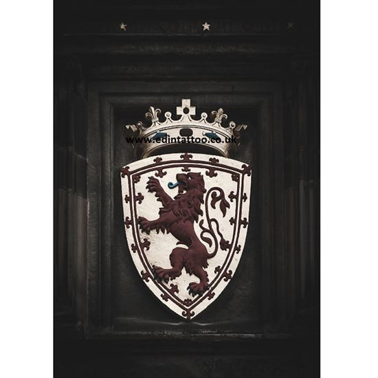 Picture of Exhibition Print - Lion Rampant