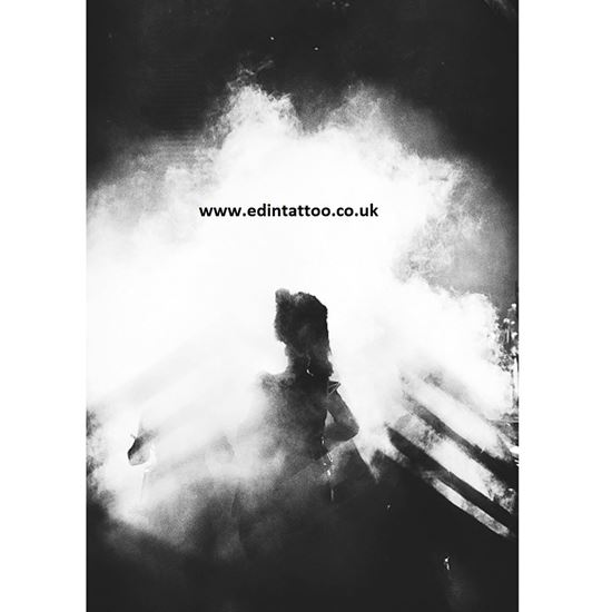 Picture of Exhibition Print - Piper in the Smoke