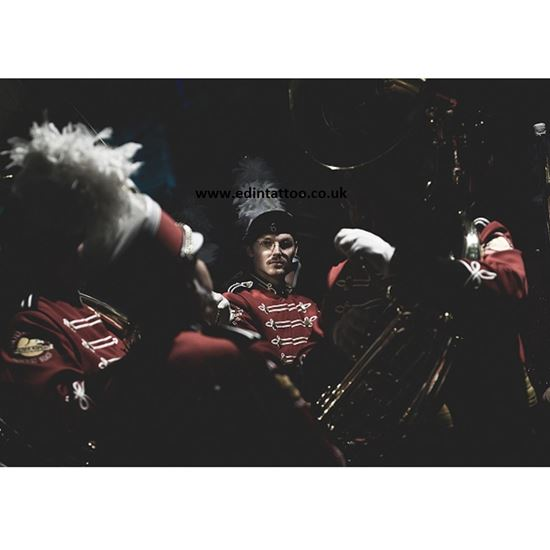 Picture of Exhibition Print - The Golden Eagles Marching Band