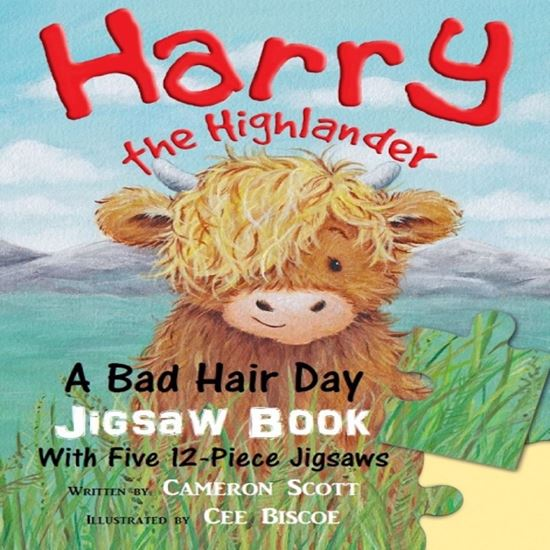 Picture of Harry Highlander Hair Jigsaw