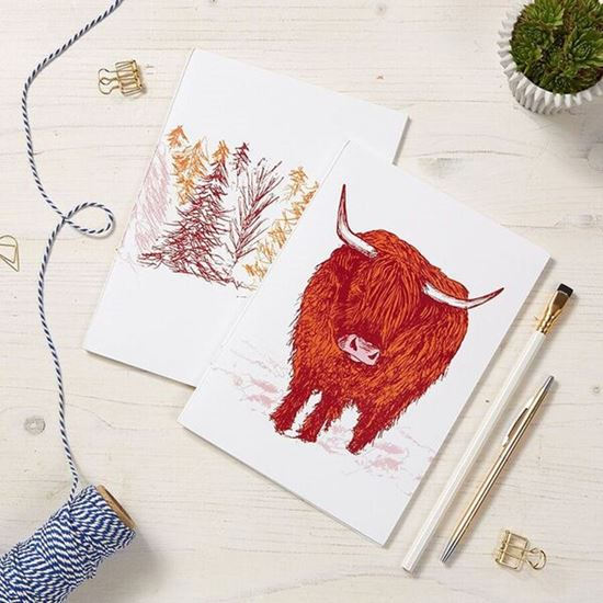 Picture of Highland Cow Notebook