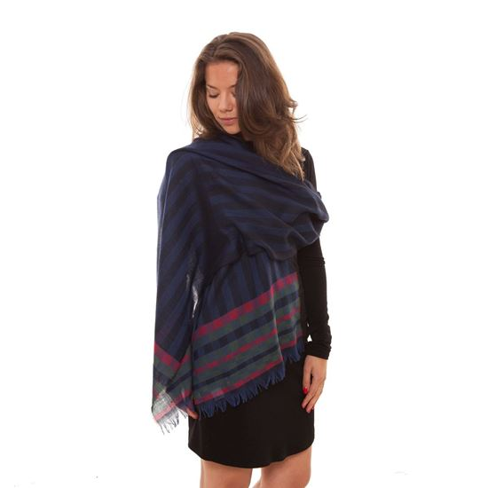 Picture of Ladies Pure New Wool Scarf/Stole