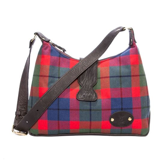 Picture of Lola Shoulder Bag in Tattoo Tartan
