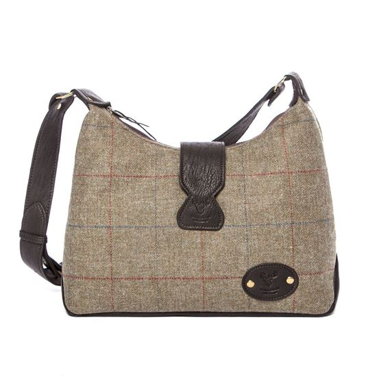 Picture of Lola Shoulder Bag in Tattoo Tweed