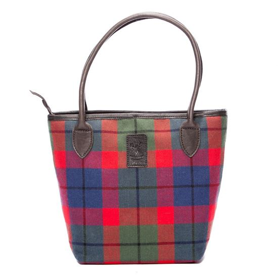 Picture of Lulu Elite Handbag in Tattoo Tartan