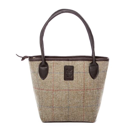 Picture of Lulu Elite Handbag in Tattoo Tweed