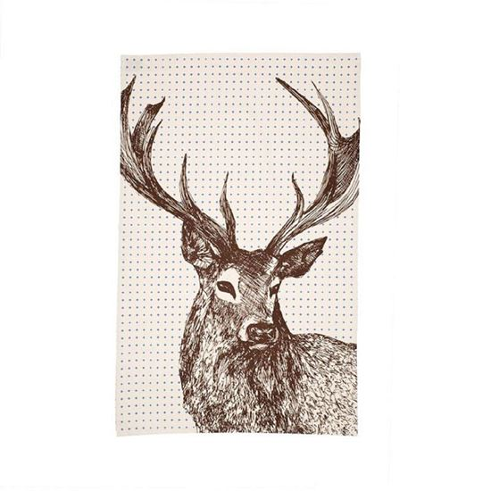 Picture of Noble Stag - Tea Towel