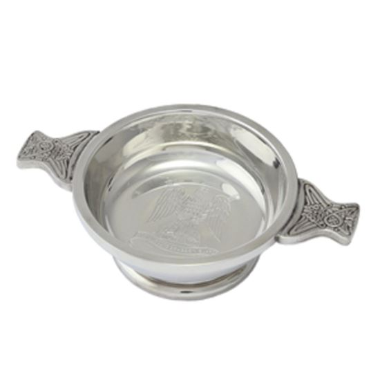 Picture of Royal Scots Dragoon Guards Pewter Quaich