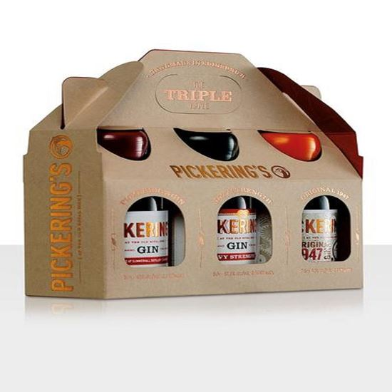 Picture of Pickerings Triple Gin Gift Pack