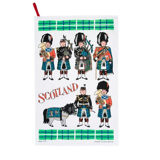 Picture of Pipers - Tea Towel