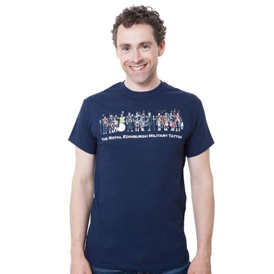 Picture of Pipes and Drums T-shirt