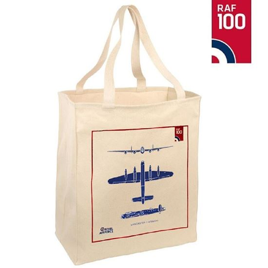 Picture of RAF 100 Lancaster Bomber Cotton Bag