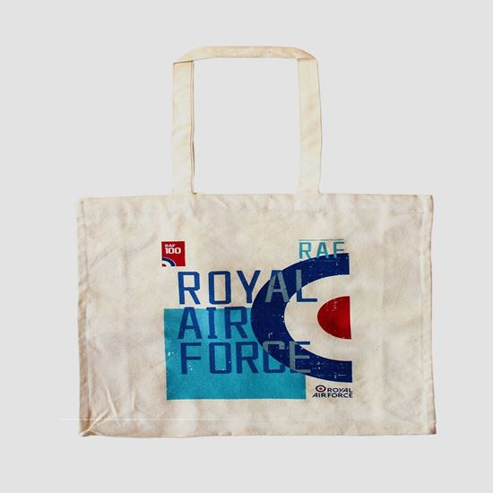Picture of RAF 100 Roundel Cotton Bag