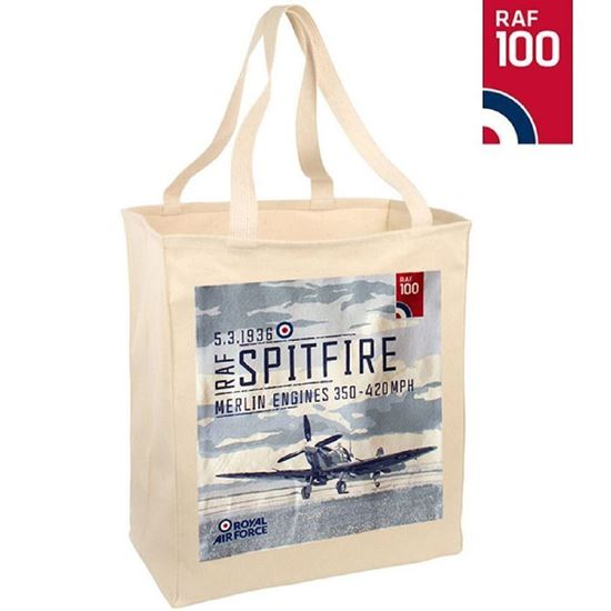 Picture of RAF 100 Spitfire Cotton Bag