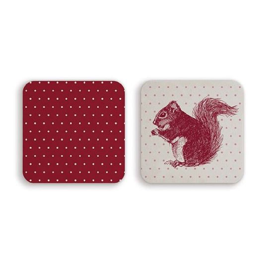 Picture of Red Squirrel - Coaster