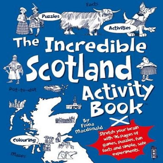 Picture of Scotland Activity Book