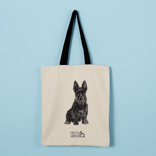 Picture of Scottie Dog Bag