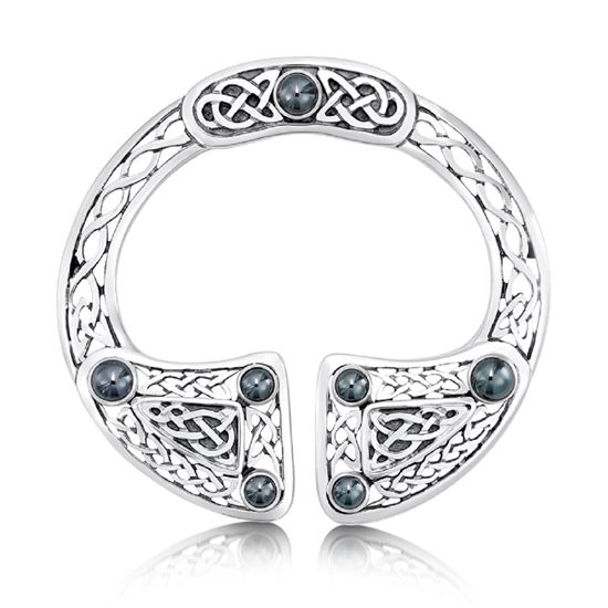 Picture of Sheila Fleet Pennanular Brooch -  NEW LOWER PRICE