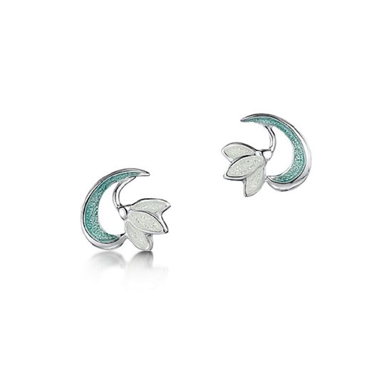 Picture Of Sheila Fleet Snowdrop Earrings