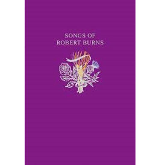 Picture of Songs of Robert Burns - Wee Purple Book