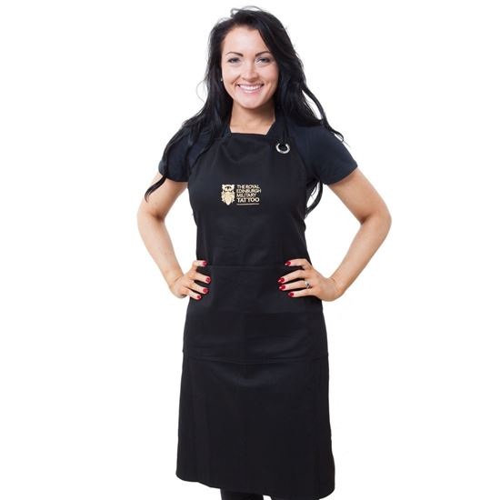 Picture of Tattoo Embroidered Apron - Black - SALE