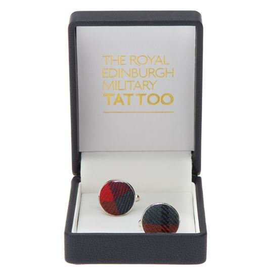 Picture of Tattoo Tartan Cufflinks
