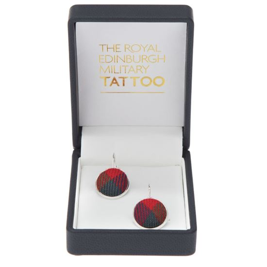 Picture of Tattoo Tartan Earrings