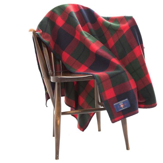Picture of Tattoo Tartan Fleece Blanket