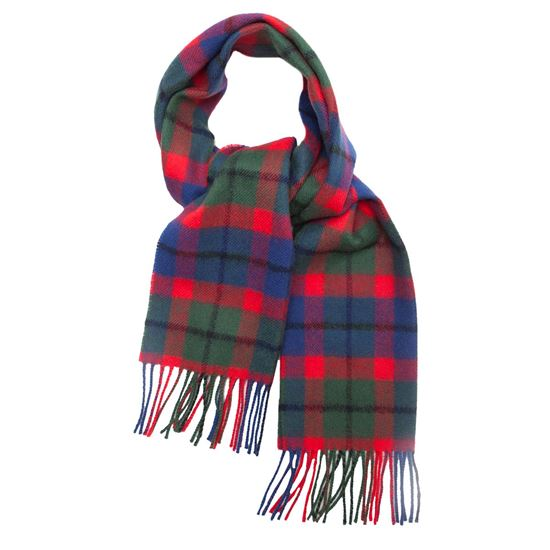 Picture of Tattoo Tartan Lambswool Scarf