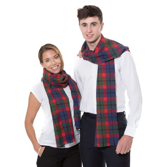 Picture of Tattoo Tartan Pure Wool Scarf