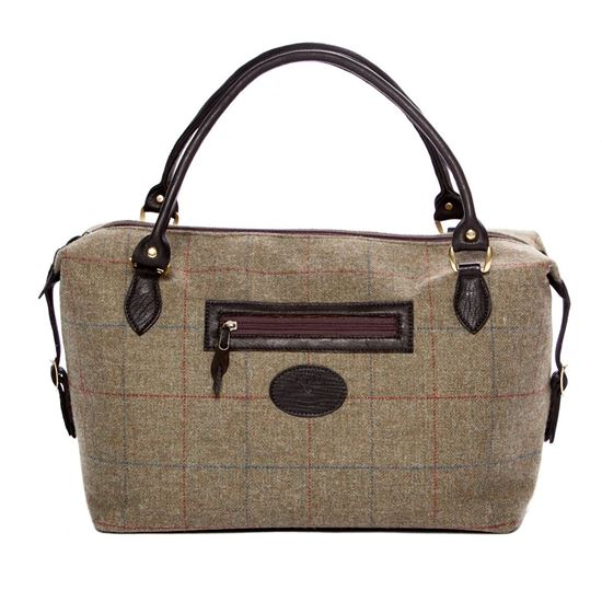 Picture of Tattoo Tweed Holdall Bag