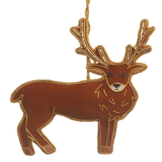 Picture of Christmas Decoration - Tartan Stag