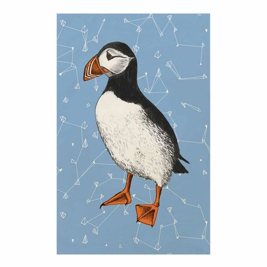 Picture of Puffin Tea Towel