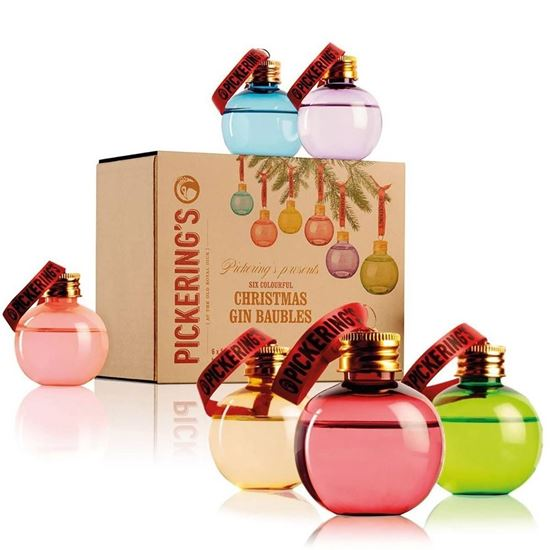 Picture of Pickering's Gin Baubles (pack of 6)