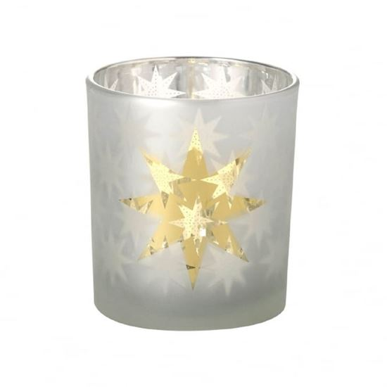 Picture of Gold Star Tea Light Holder