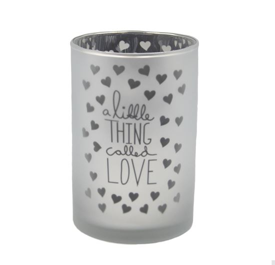 Picture of Love tealight holder small