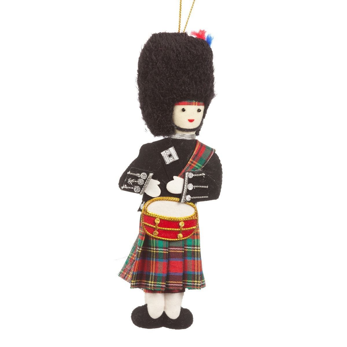 Christmas Drummer.Christmas Decoration Highland Drummer