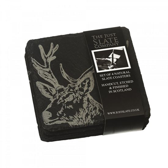 Picture of Stag Slate Coasters