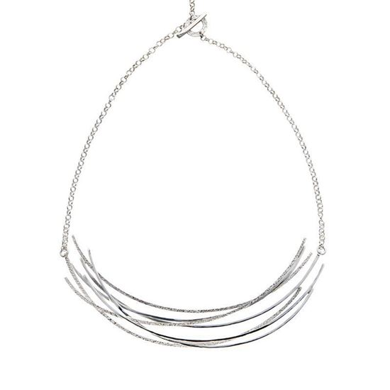 Picture of Curved Line Necklace - Reduced Price