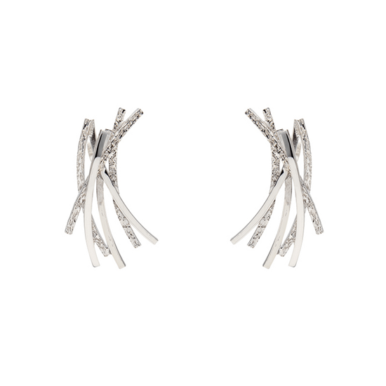 Picture of Curved Line Earrings