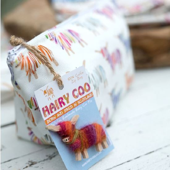 Picture of Hairy Coo Zip Bag