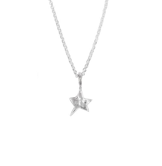 Picture of Stars Pendant Hammered - Reduced Price
