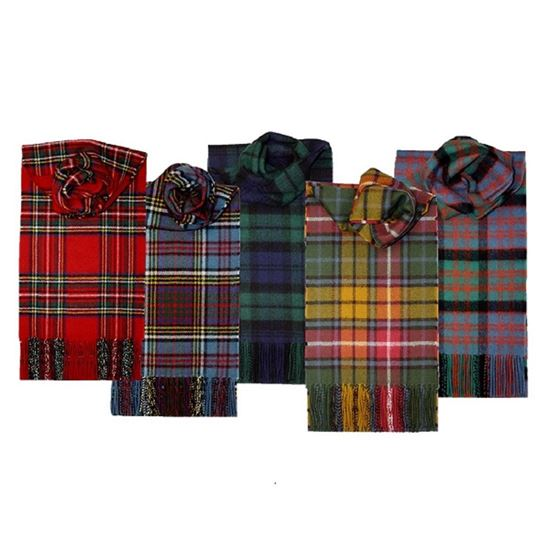 Picture of Tartan Lambswool Scarf