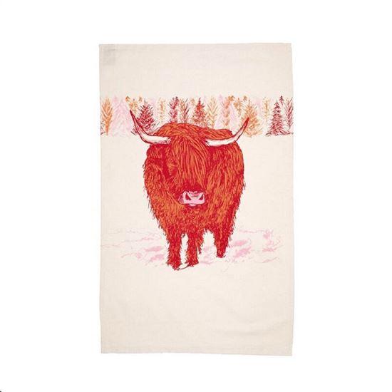 Picture of Scottish Animal Tea Towels